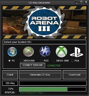 Robot Arena III Key Generator (Free CD Key)