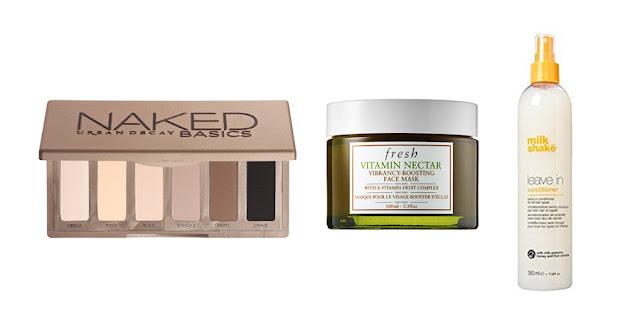 Beauty Blogger, College Blogger, Lifestyle Blogger, Urban Decay Naked Basics Palette, Fresh Vitamin Nectar Face Mask, Milkshake Leave-In Conditoner