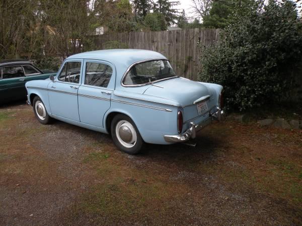 1961 Hillman Minx | Auto Restorationice