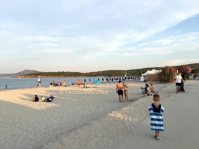 Sardinia Olbia Pittulongu beach