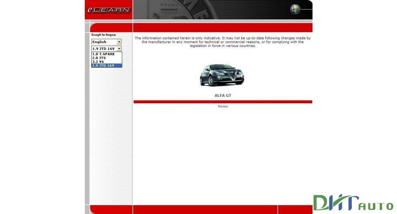 Car Manuals & Literature Vehicle Parts & Accessories ALFA ROMEO GT ...