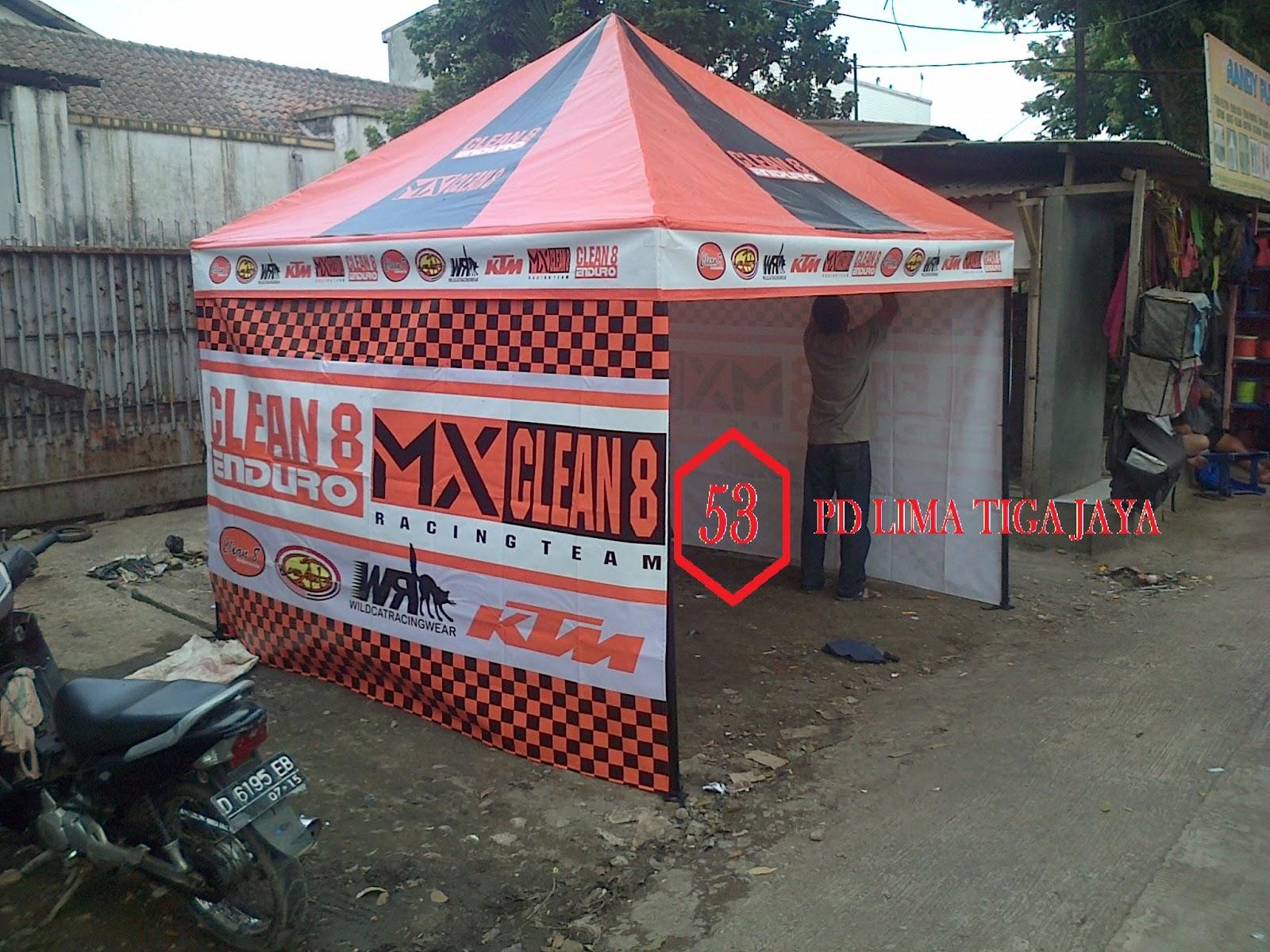 jual tenda promosi gazebo tenda cafe murah bandung