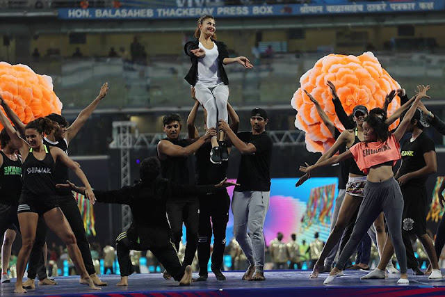 Jacqueline VIVO IPL 2018 Opening Ceremony Dance Performance Rehearsal