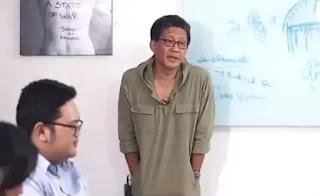 Rocky Gerung saat menyebut atheisme diizinkan oleh Pancasila. - Foto: Screenshot video