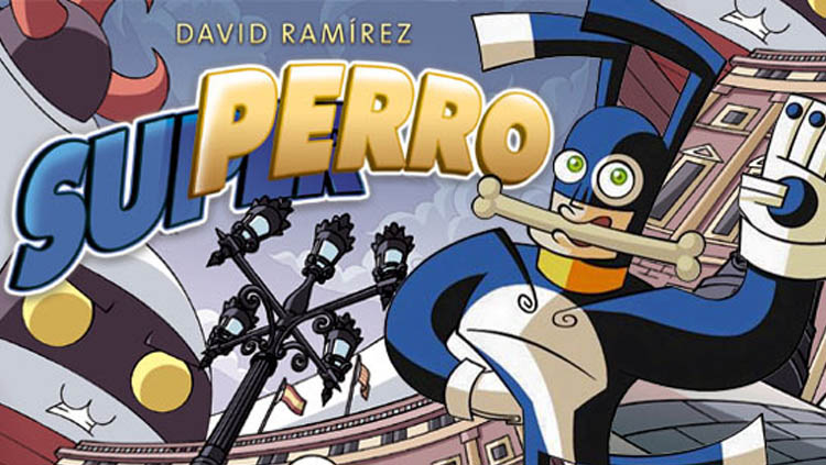 Superro, un cómic de David Ramírez