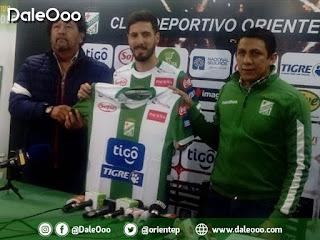 Oriente Petrolero presenta a Patricio Vidal como su nuevo refuerzo - DaleOoo