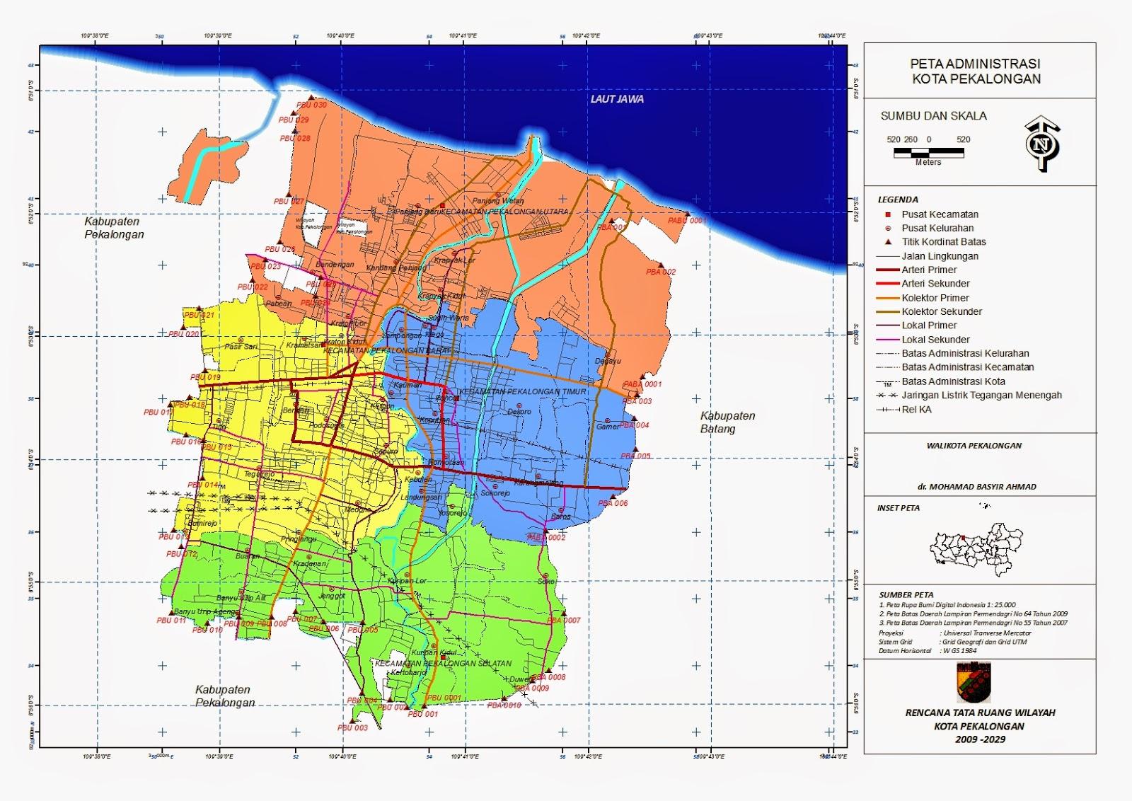 Peta Deliniasi dan Deskripsi Batasan Wilayah | its PWK!