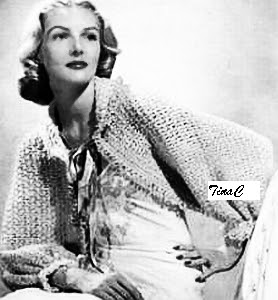 The Vintage Pattern Files: Free 1940's Crochet Pattern - Easy Crochet Shrug