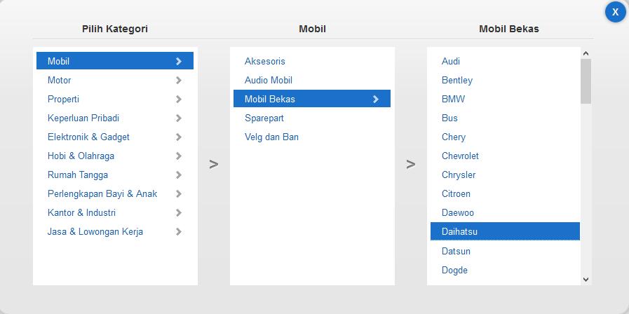 Panduan Cara Menjual Mobil di OLX.co.id