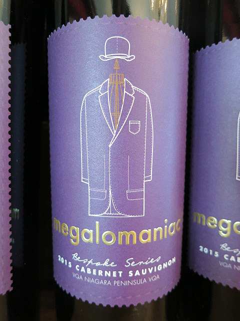Megalomaniac Bespoke Cabernet Sauvignon 2015 (91+ pts)