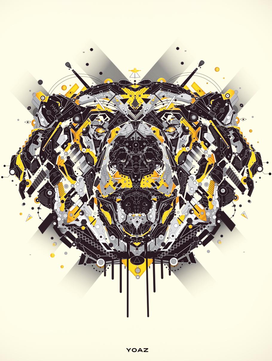 La Vie Digitale: Amazingly Detailed Animal Illustrations