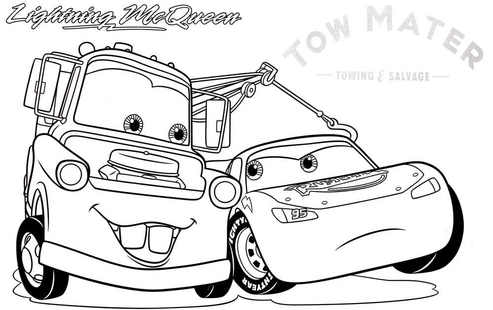 Mi colección de dibujos: ♥ Cars para colorear ♥