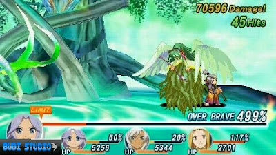 Tales of Phantasia: Narikiri Dungeon X PPSSPP Android 2