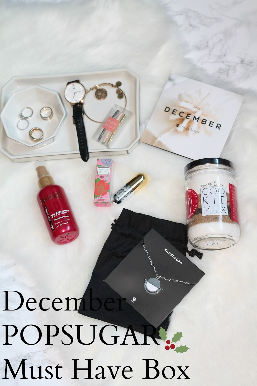 popsugar musthave box december 2016 review