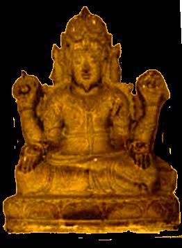 Gambar Arca perunggu zaman logam