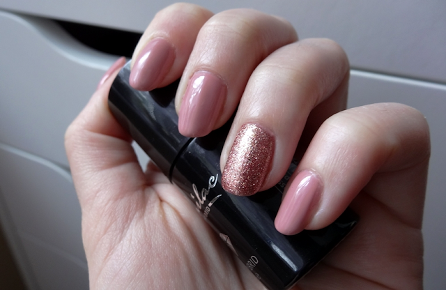 Semilac 004 Classic Nude + 094 Pink Gold