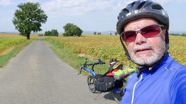 De Paris à Narbonne en vélo, pause
