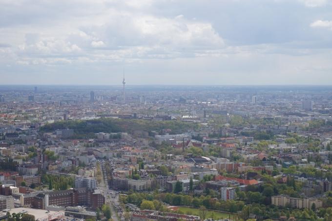 Berliini lentokoneesta, TV-torni
