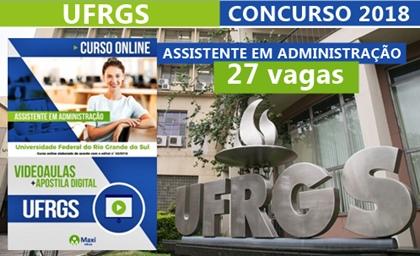 Videoaula Concurso UFRGS 2018