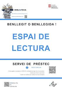 Institut Comte de Rius, Lectura, Biblioteca Institut Comte de Rius, Biblio