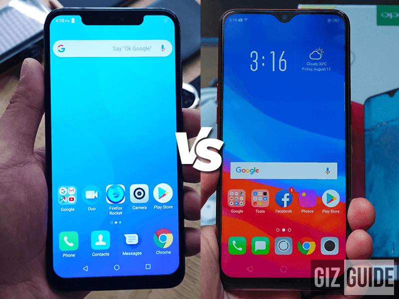 Cherry Mobile Flare S7 Plus vs OPPO F9 Specs Comparison