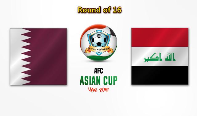 مباراة العراق وقطر 22-01-2019 كاس اسيا
