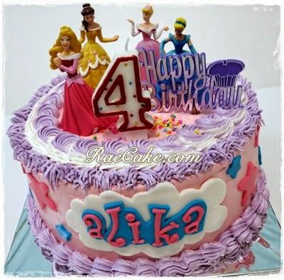 Princess Disney Cake For Alika Kue Ulang Tahun Birthday