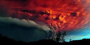 Samalas mountain erupted.