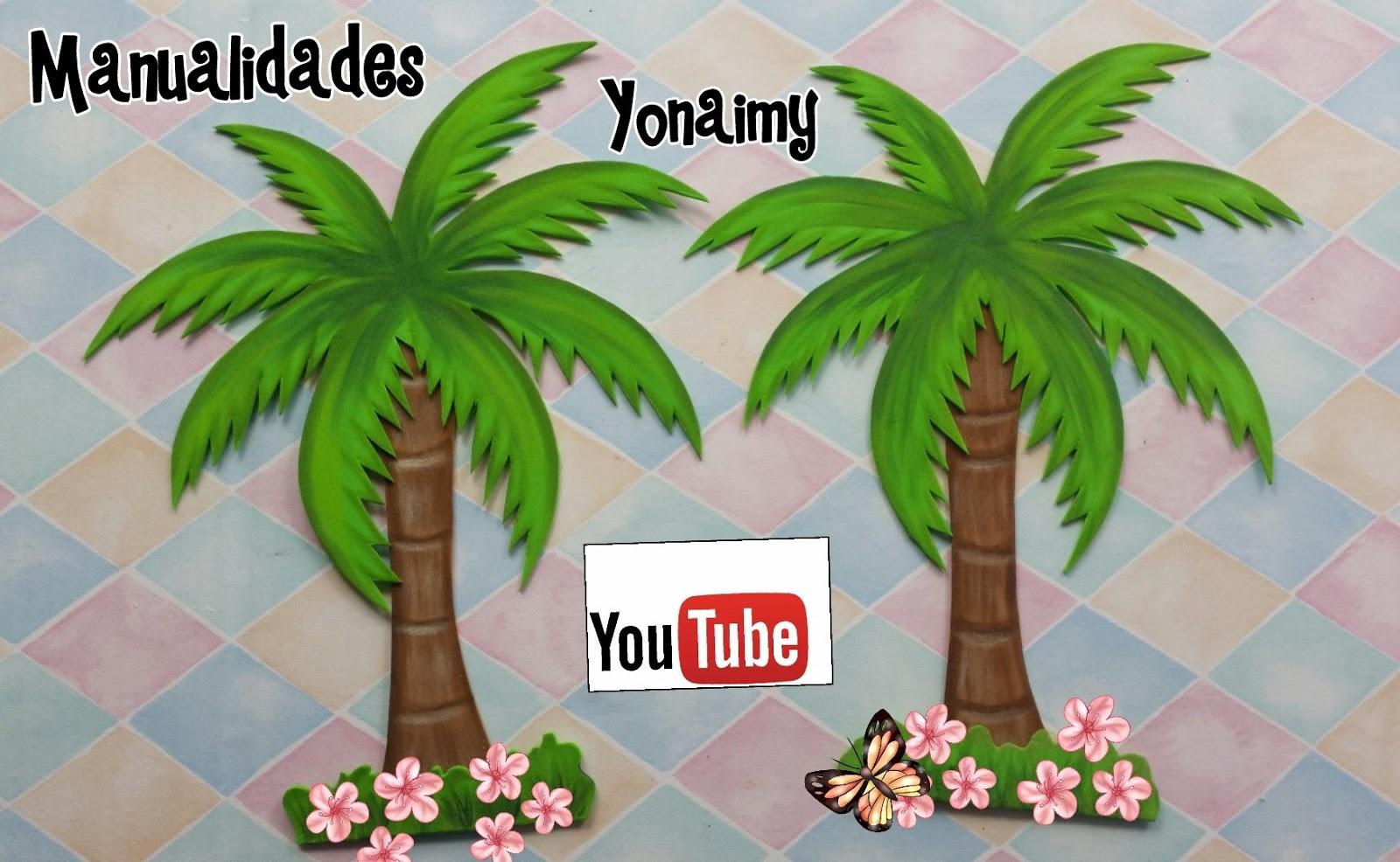 Moldes De Hojas De Las Palmas Para Imprimir: MANUALIDADES YONAIMY