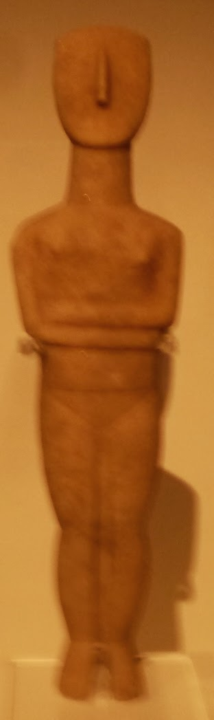 Greek Abstract Figurine