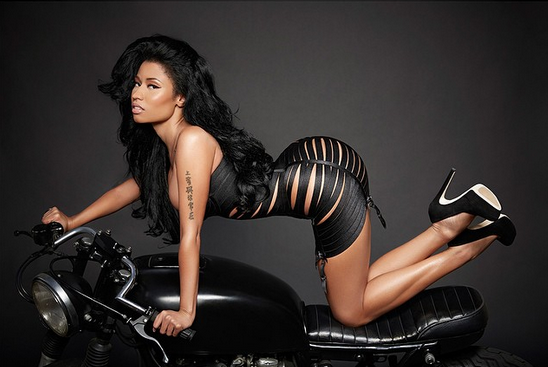 Lassbsmall: Nicki Minaj releases sexy photos from her 2015 ...