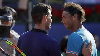 Thiem stuns Nadal to reach Barcelona final