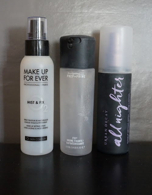 Comparatif Spray Fixant Maquillage