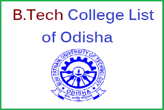 List of B.Tech Colleges in Odisha Under BPUT with Contact Details