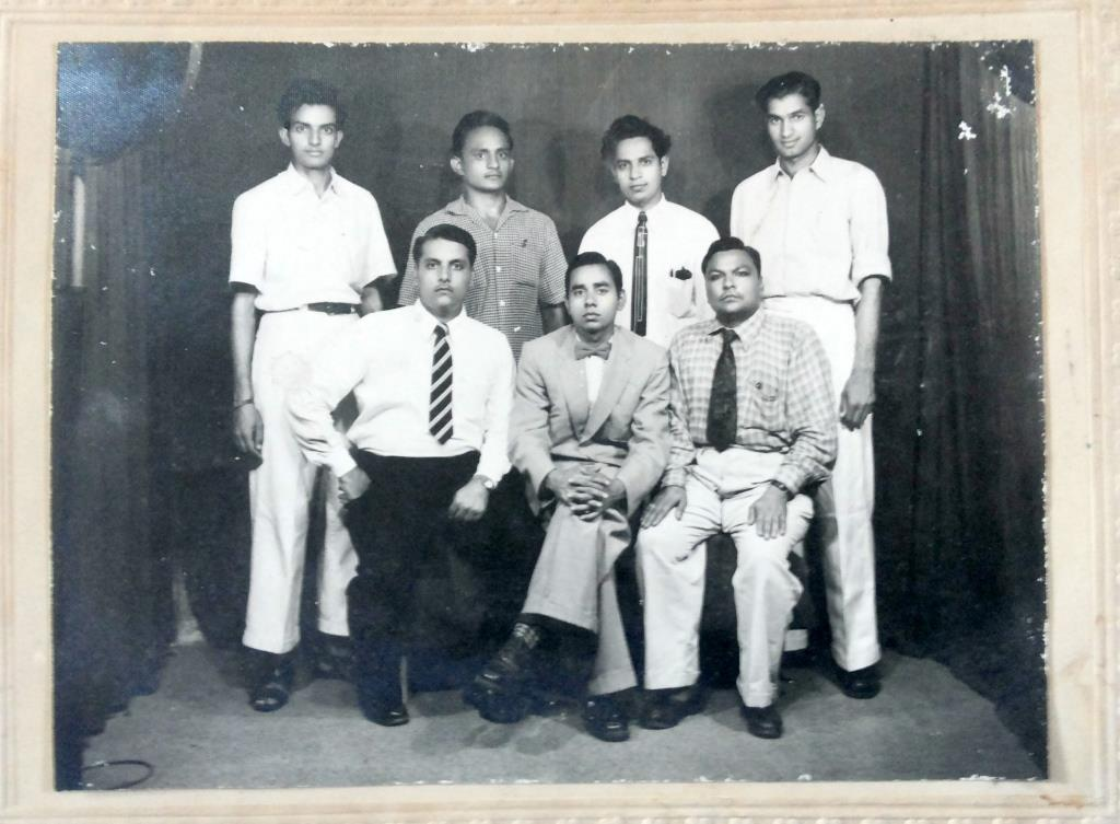 Group Photograph of Indian Men, Probably Office Colleagues