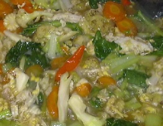 Resep Capcay Kuah Seafood Ayam Enak Cinta Indonesia