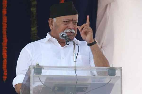 RSS chief disputes Modi, says gau rakshaks not anti-socials