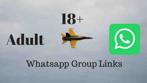 NEW 18+ Active Adult WhatsApp Group Links | Only Active User Join
