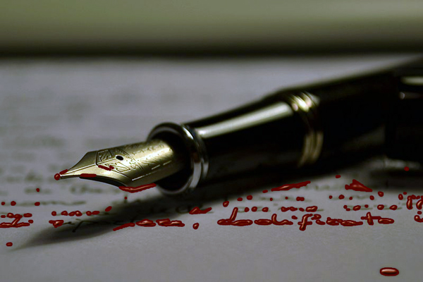 Don't Write, Bleed