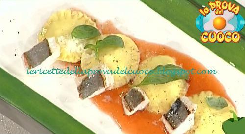 Ravioli al san pietro con salsa di pomodoro ricetta Giunta da Prova del Cuoco