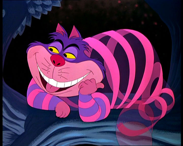 Alice In Wonderland Cheshire Cat Tattoo: CAT'S EYES: Famous Cat : Cheshire Cat Picture Collection