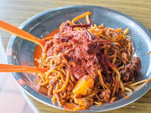 Seeni Mee Sotong @ Sri Weld Food Court, Beach Street, Georgetown Penang