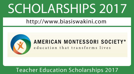 Teacher Education Scholarships 2017