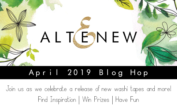 I Love Doing All Things Crafty: Altenew April 2019 Washi