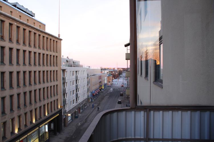 Hotelli vaasan keskustassa