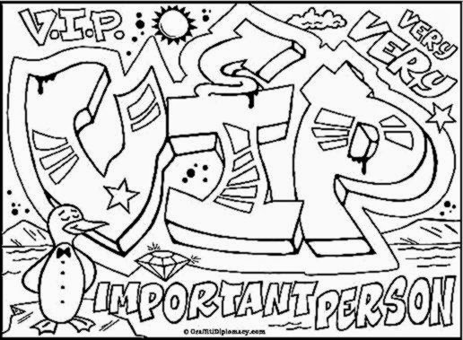 s graffiti coloring pages - photo #9