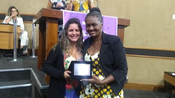 Ex-Prefeita Domingas da Paixão foi homenageada em Sessão Especial da Assembleia Legislativa da Bahia