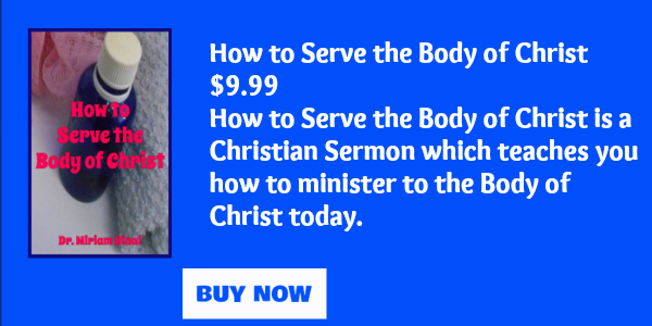 How to serve the Body of Christ
