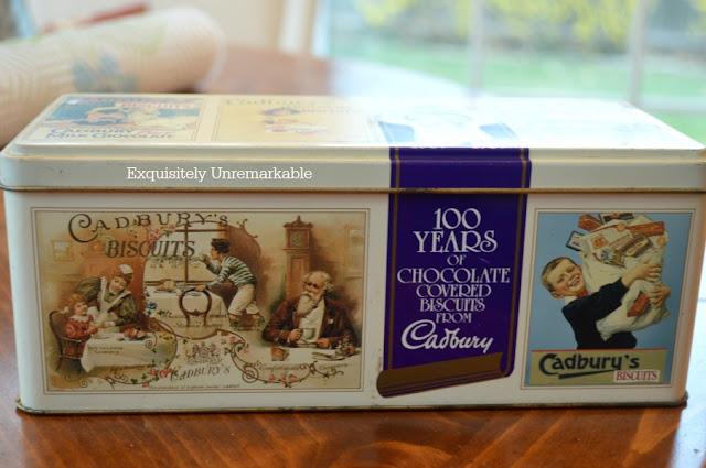 Cadburys Biscuit Tins