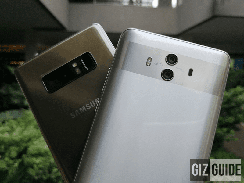 Samsung Galaxy Note 8 vs Huawei Mate 10 Specs Comparison